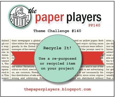 Paper Players #140 Recycle It 4-7-2013