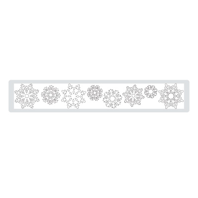 Northern Frost Decorative Strip Die