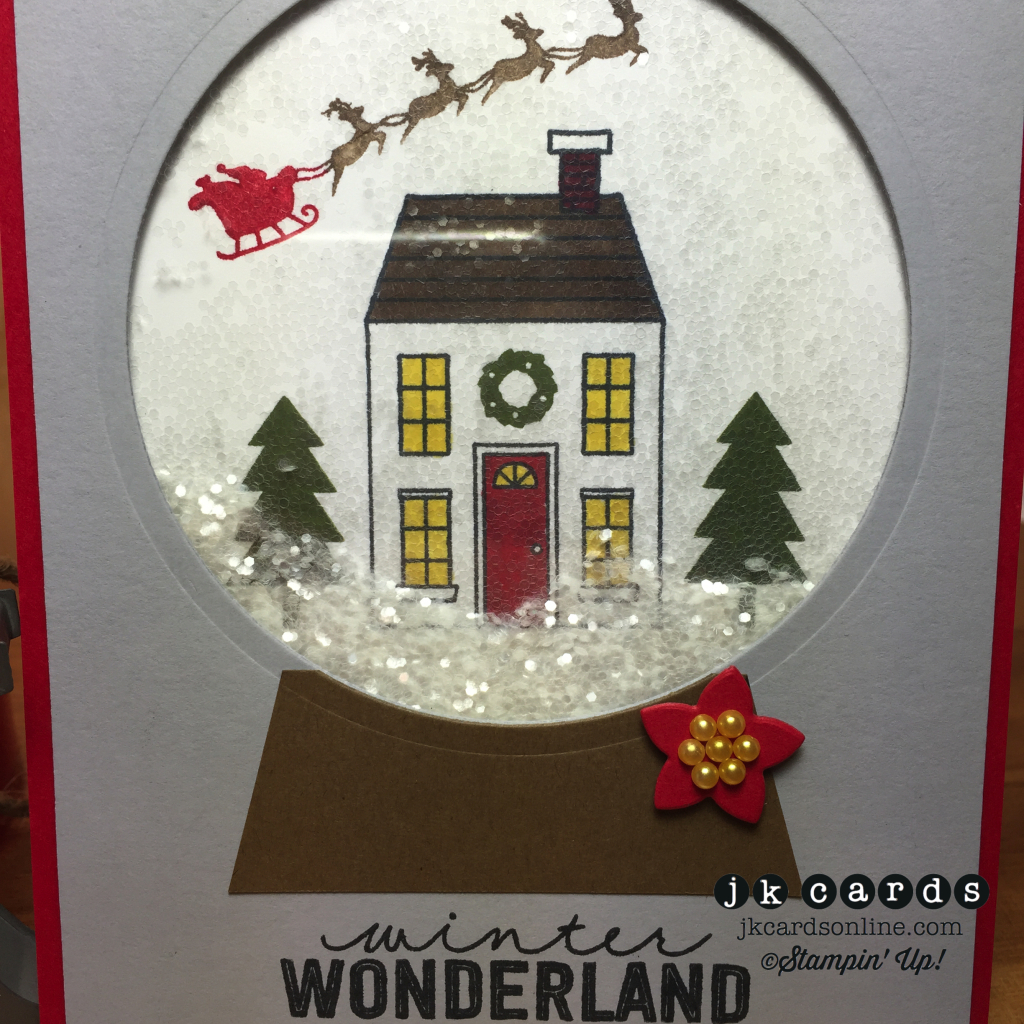 Holiday Snow Globe Close-WM