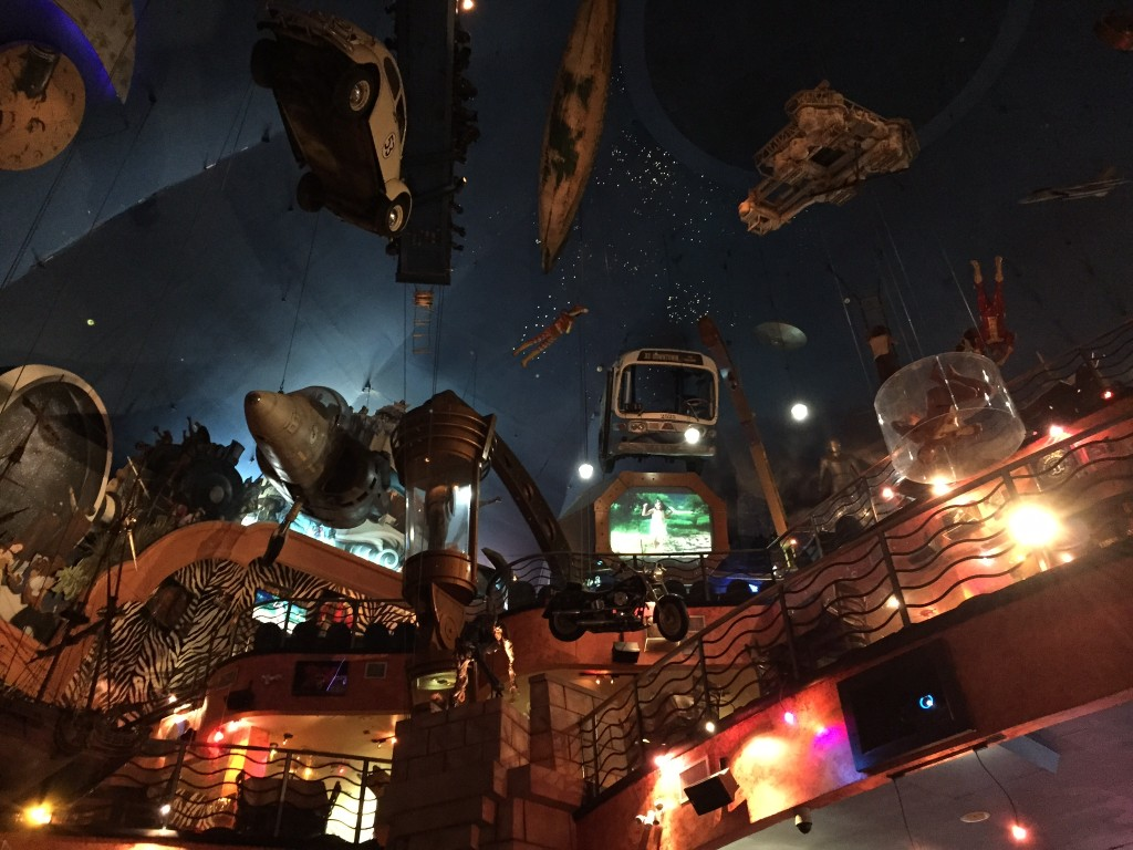 Planet Hollywood Ceiling