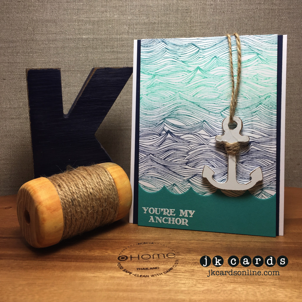 Waves Ombre Anchor-WM