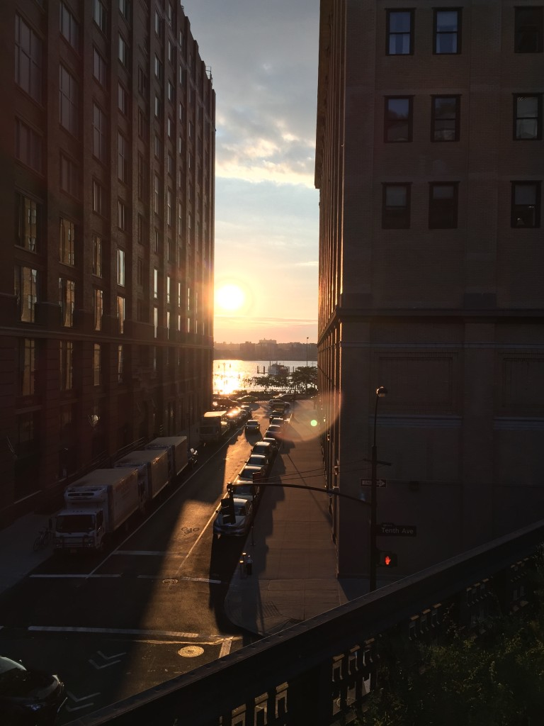 High-Line Sunset 1