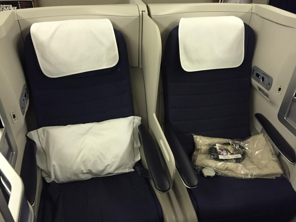 BA Club World Seats