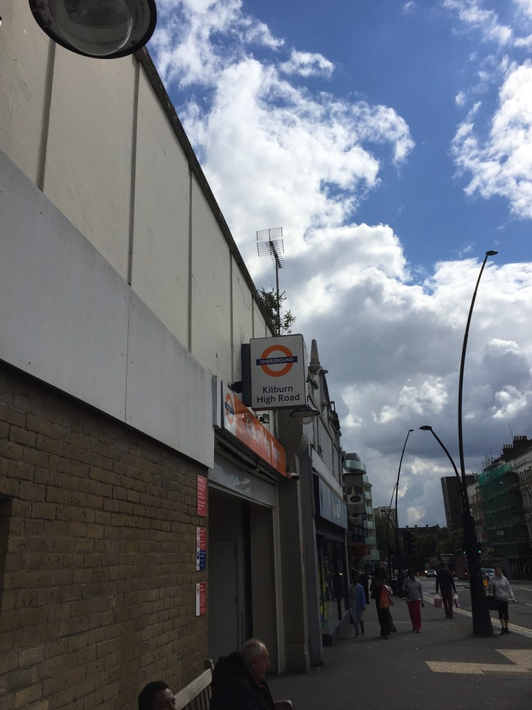 Kilburn High Road Overground Station