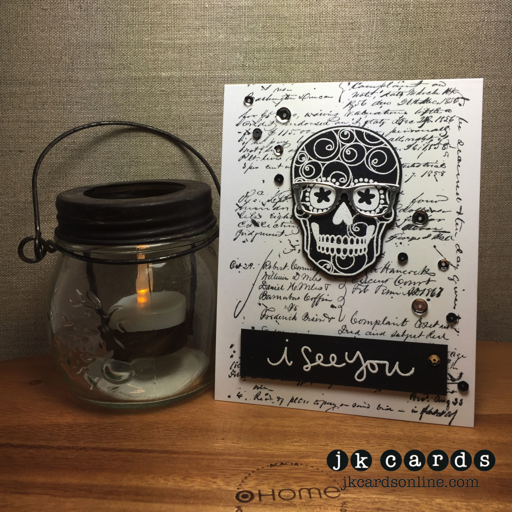 Script Spectacle Sugar Skull-WM