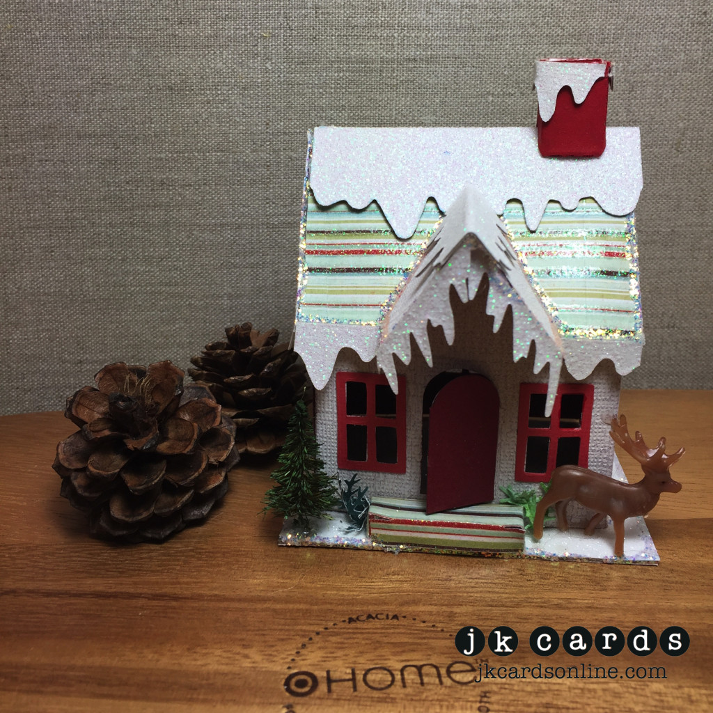 Gina Tim Holtz Holiday House