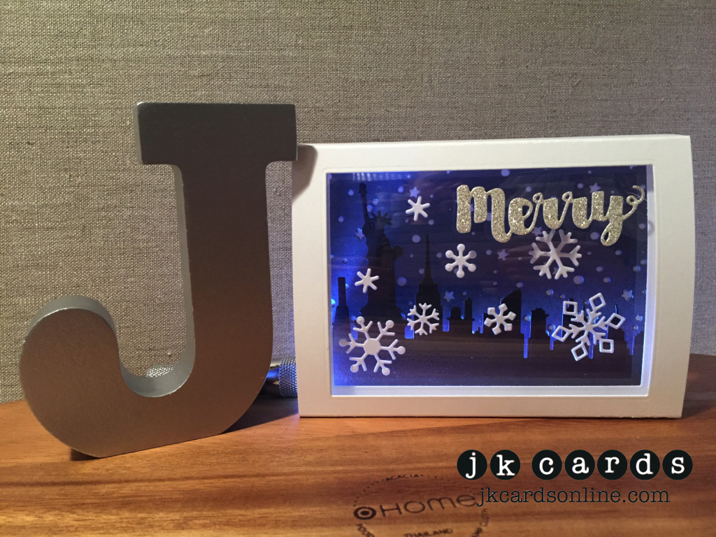 Merry City Shadow Box-WM