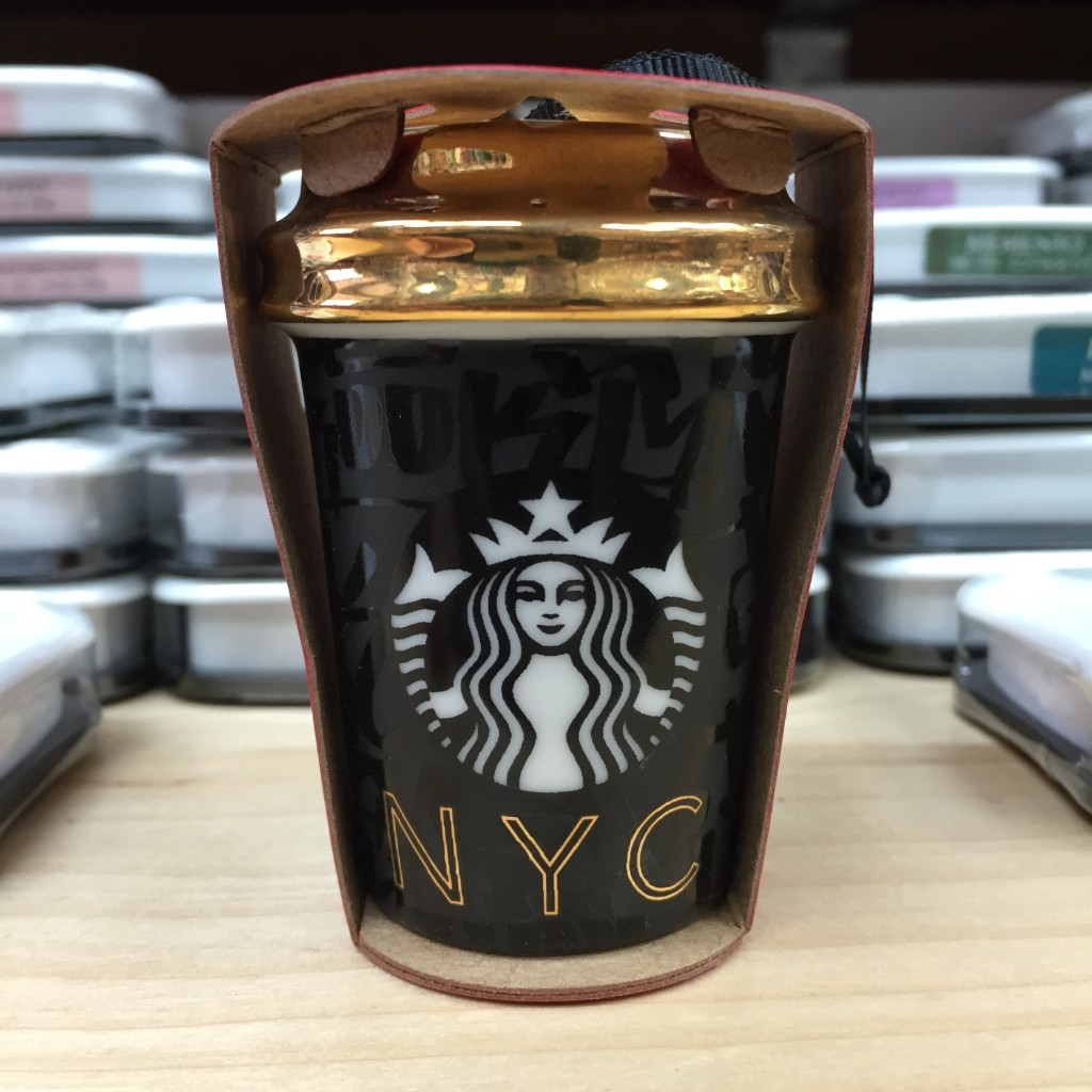 Starbucks Balck & Gold Holiday 2015