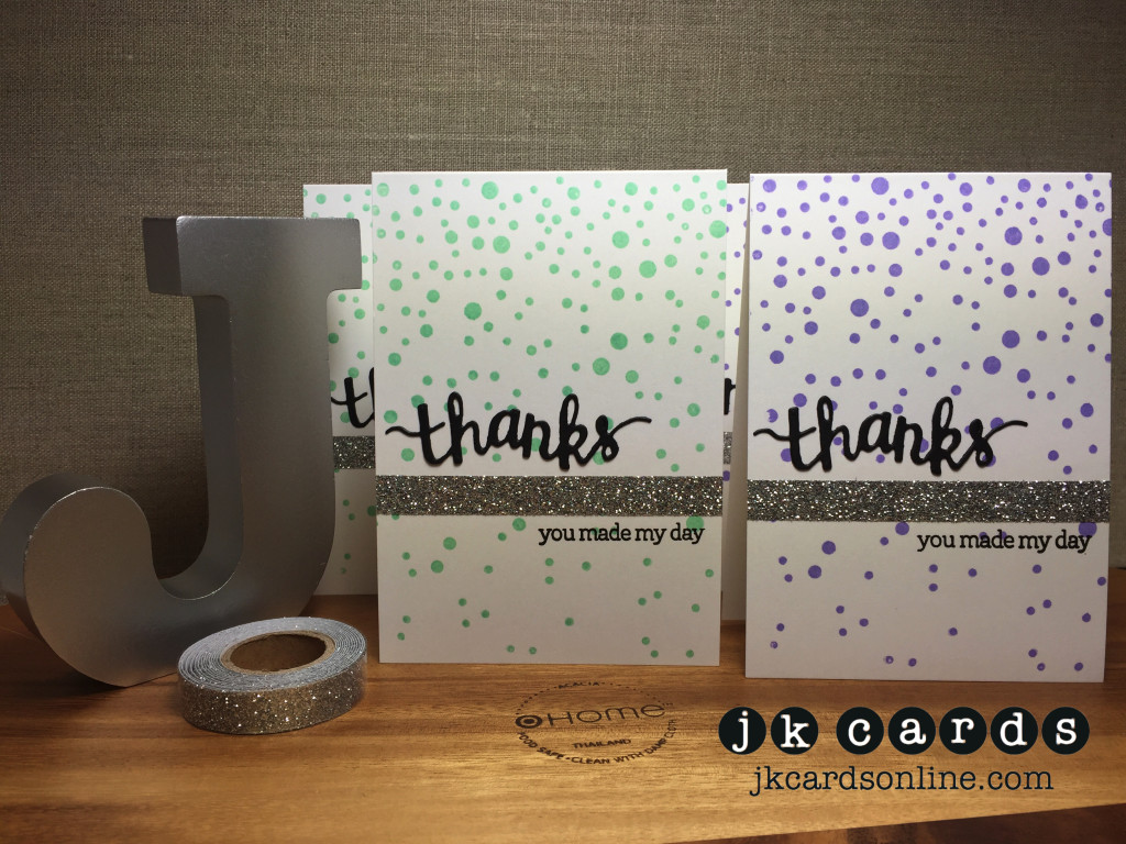 Thanks Notecard Set-WM