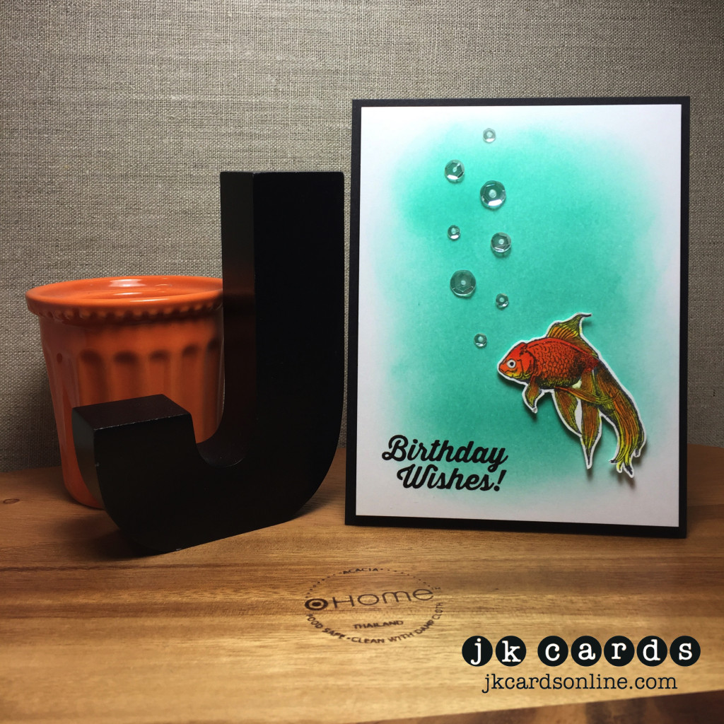 Goldfish Bubbles Birthday-WM