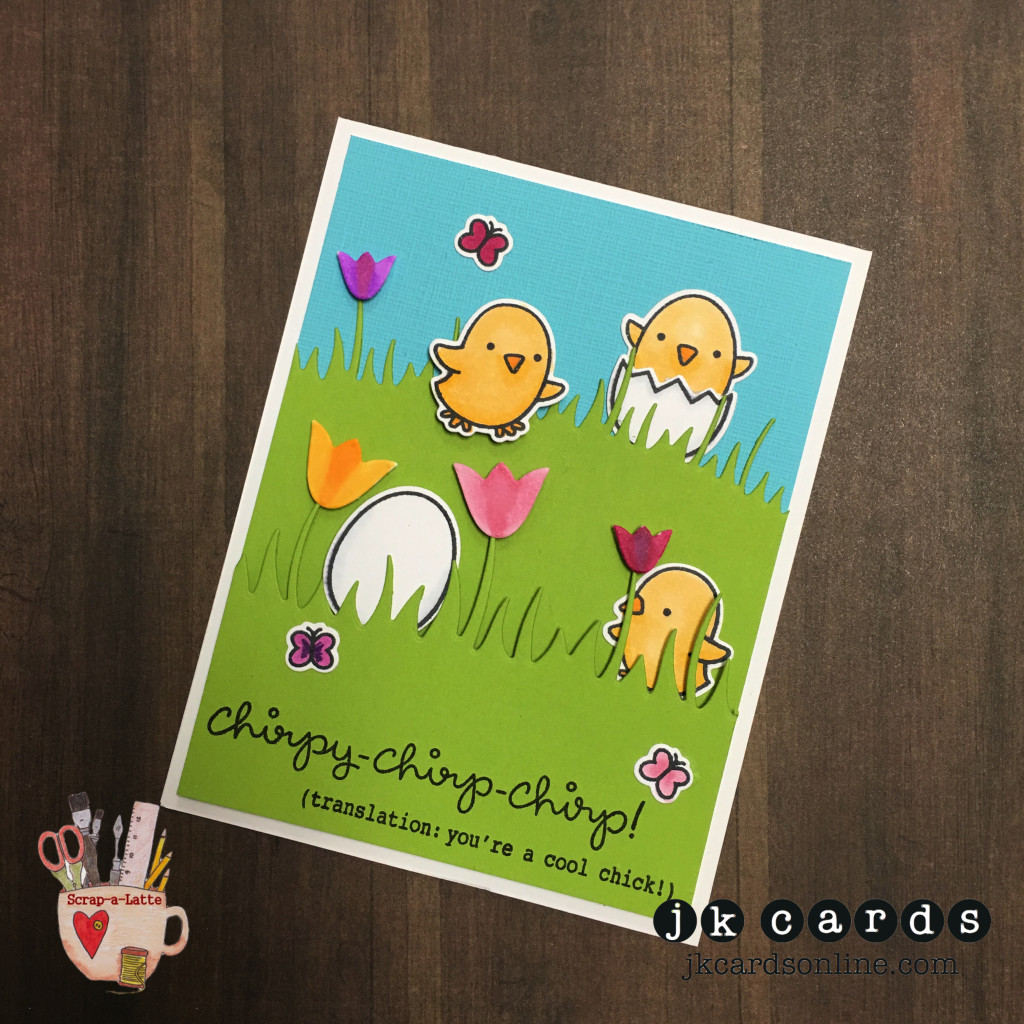 SAL March LF Card Class Chirpy Chirp-WM