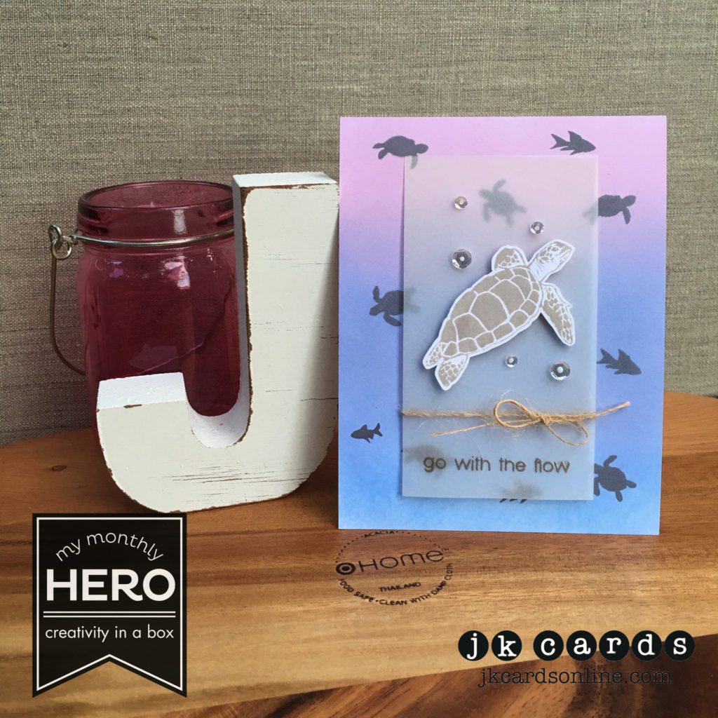 Hero Arts Monthly Kit - Paper Players 301-WM