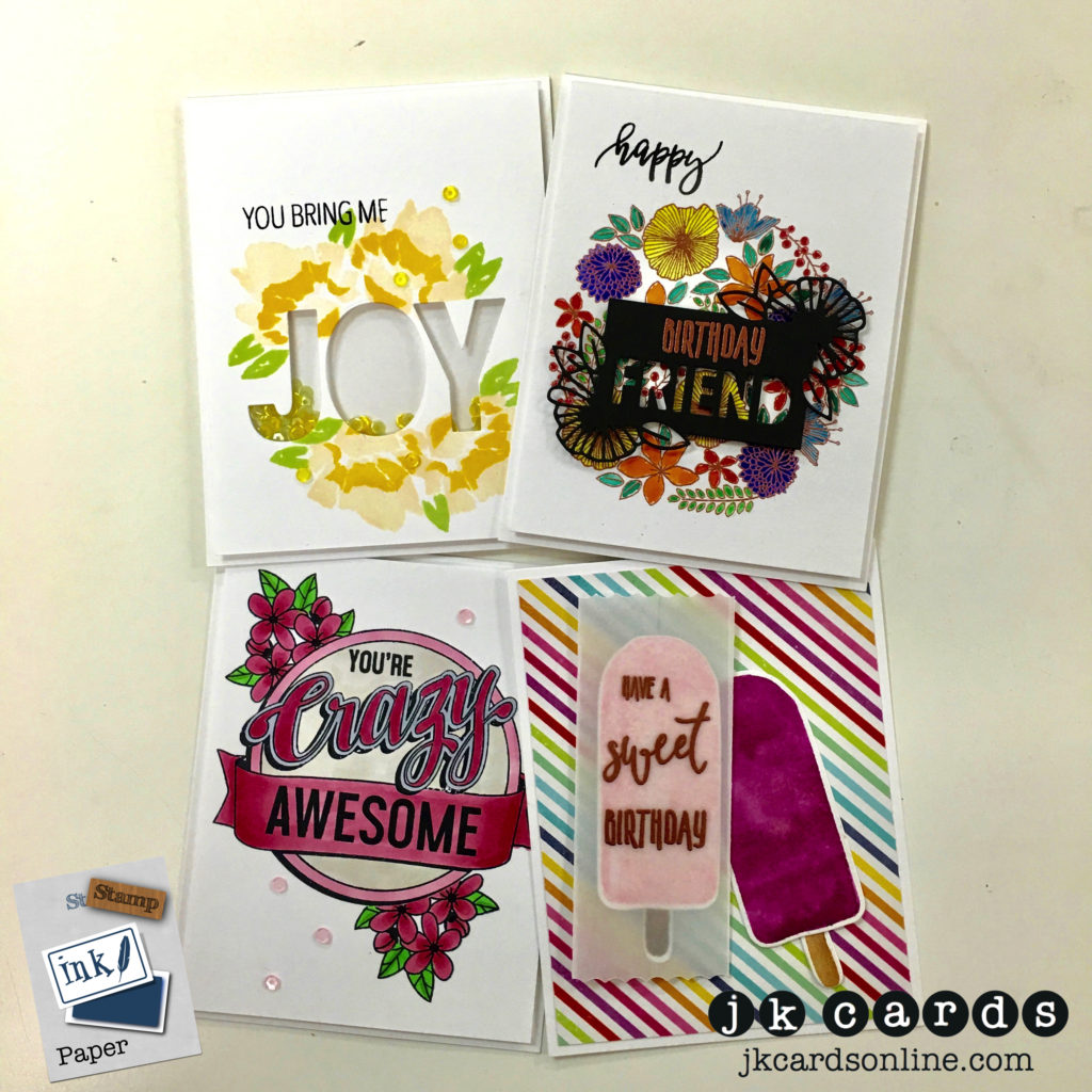 SIP Store C&9 August Card Class-WM