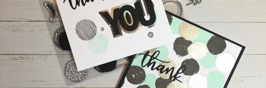 Dotty Thank You Two Ways – Concord & 9th May Guest Designer
