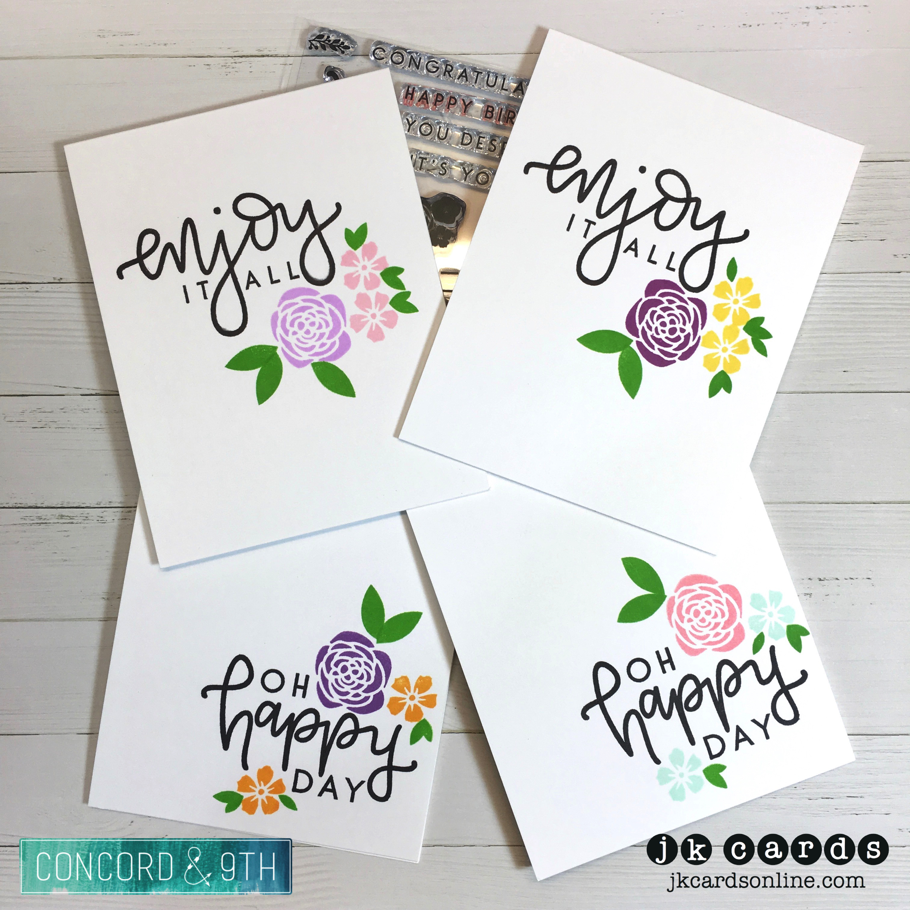 OSAT May Blog Hop – Clean & Simple! | jkcards