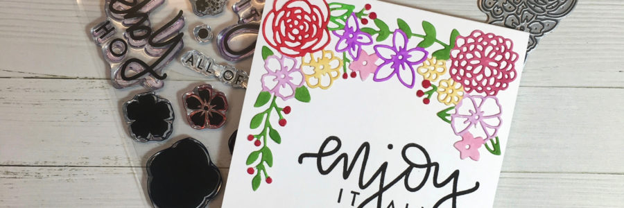 Detailed Blooms Two Ways – Concord & 9th May Guest Designer